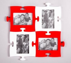 Puzzle Photo Frames
