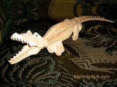 Crocodile 3D Puzzle