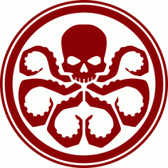 Hydra logo vector CDR File