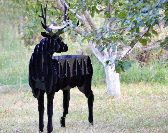 Deer BBQ cnc plan DXF File