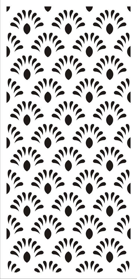 Jali Design Flourishing Floral Design Pattern dxf File