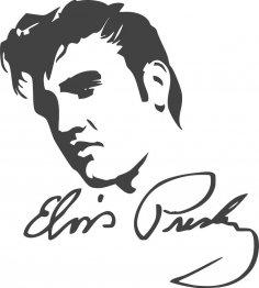 Elvis Presley dxf File