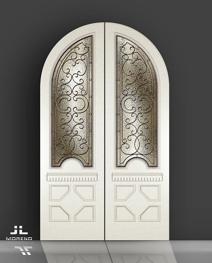 Door D2ATGrill1 DWG File