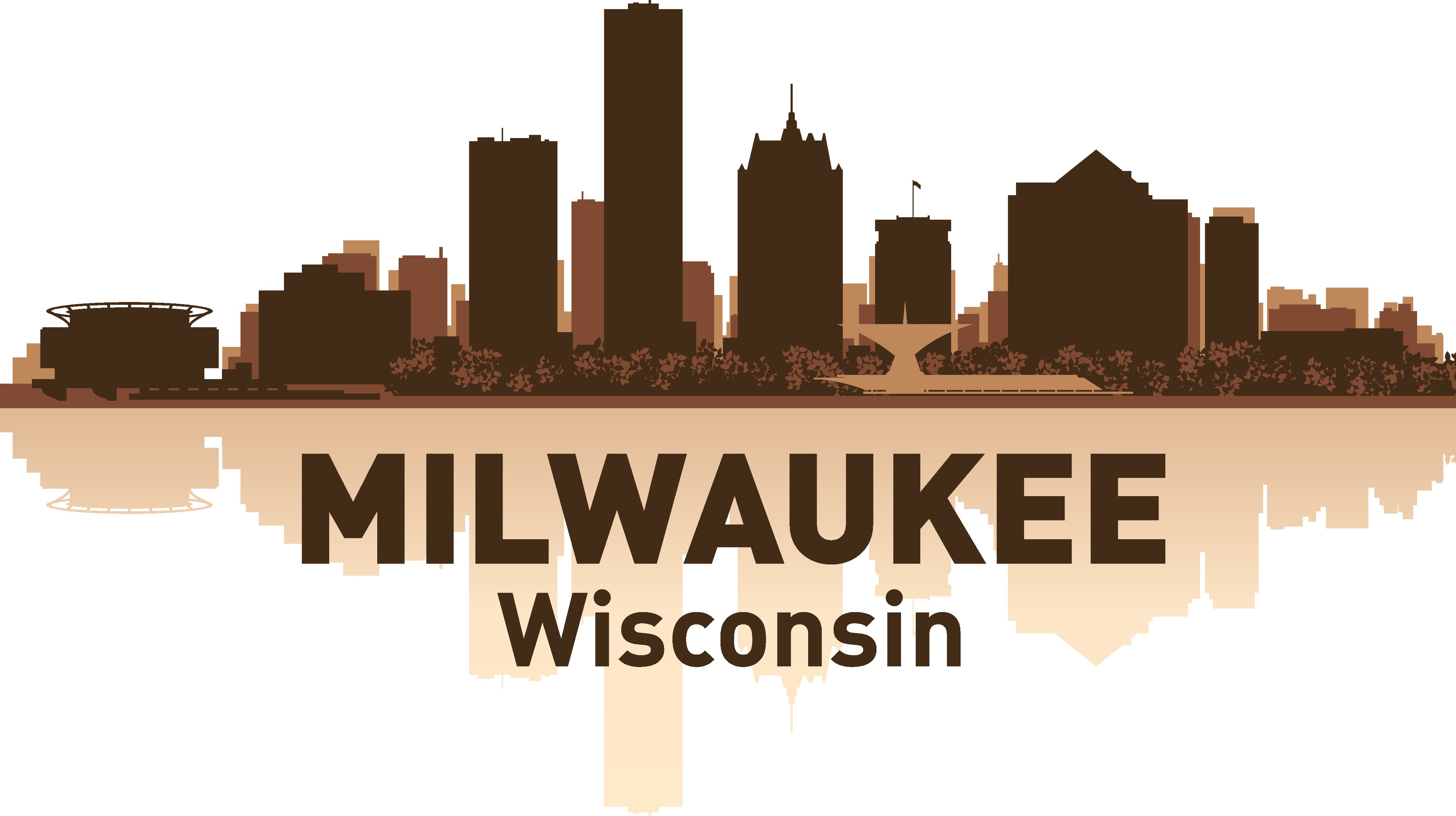 Milwaukee Skyline Free Vector