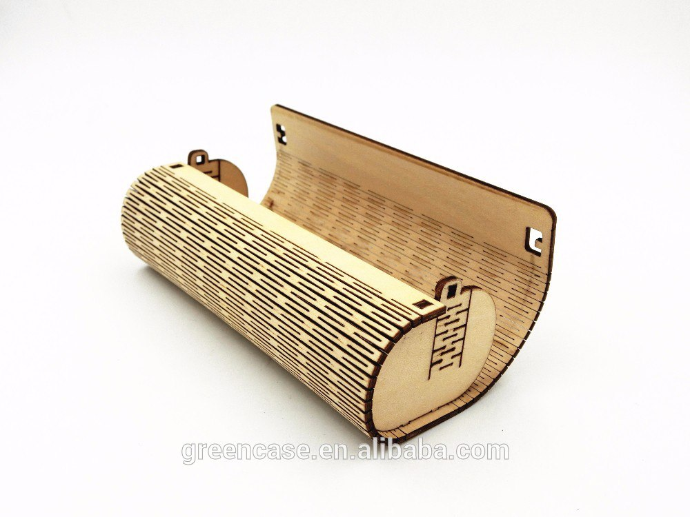 Glasses Case Laser Cutting Free Vector