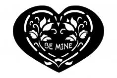 Be Mine dxf File