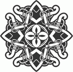 Celtic Ornament Decoration Free Vector