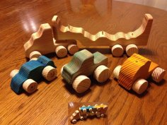 Wooden Toy Hauler