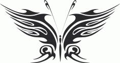 Butterfly Vector Art 018 Free Vector