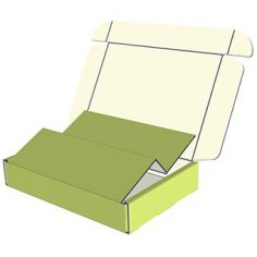 Packing Box E033 dxf File