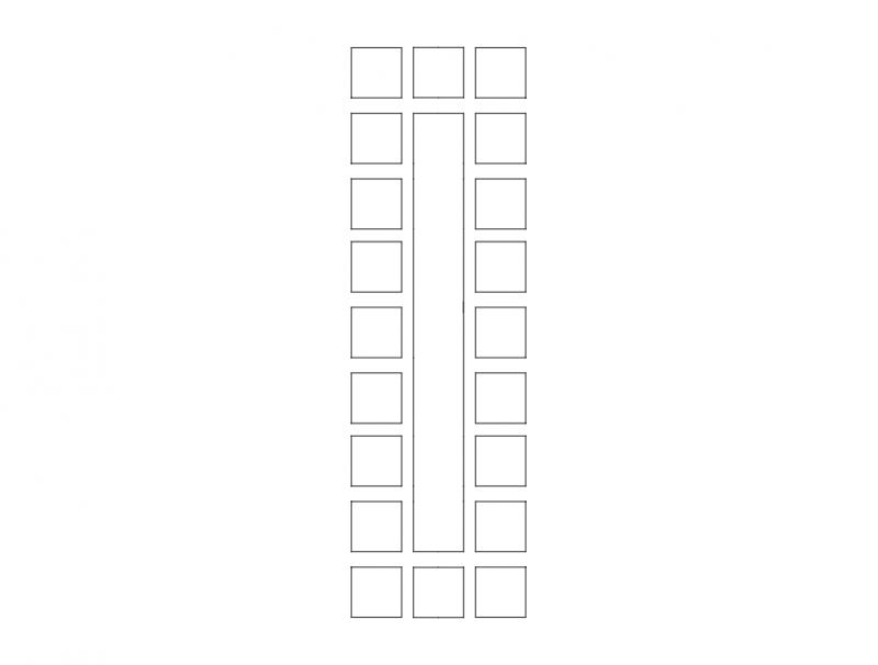 Mdf Door Design 15 dxf File