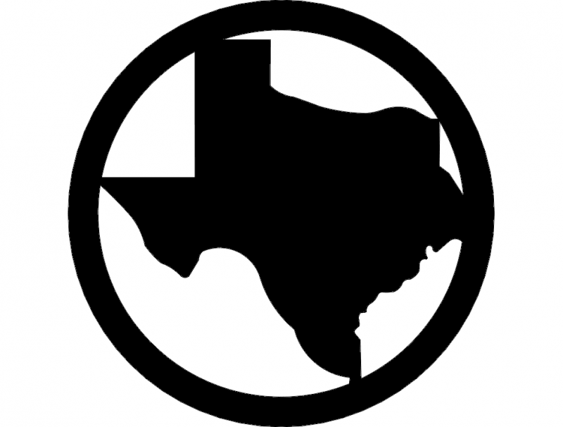 Texas dxf File