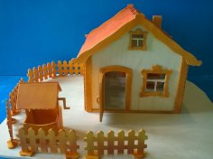 House Plywood 6.5mm DXF File