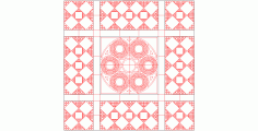 Geometrical Pattern DWG File