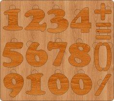 Alphavit Puzzle Rus DXF File