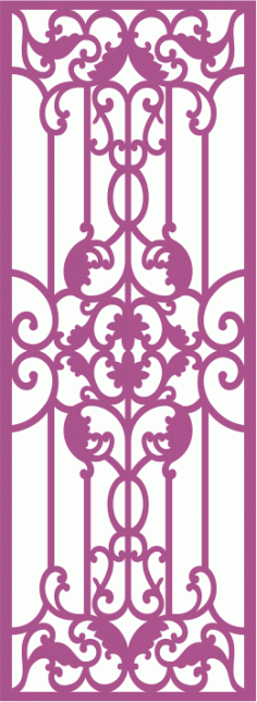 Laser Cut Grille Pattern Free Vector