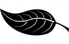 Leaf dxf File
