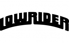 Lowrider dxf File