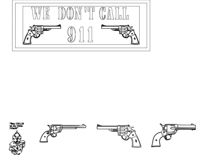 911 dxf File