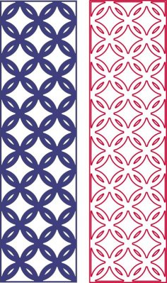 Geometric seamless pattern dxf File