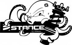 Stance Free Vector