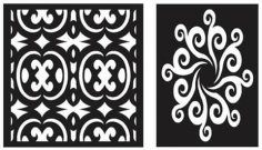 Pattern Designs 46 dxf File