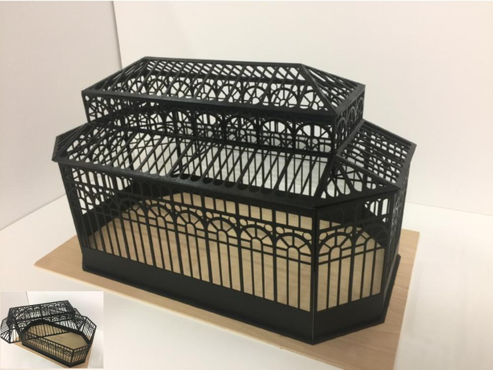 Mini Greenhouse DXF File