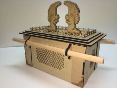Laser Cut Ark Of The Covenant 3mm Free Vector