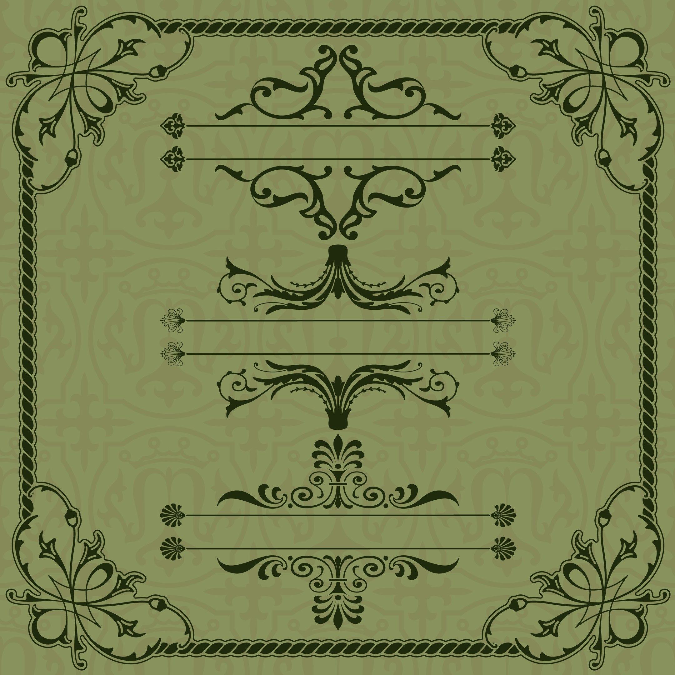Frame Design Free Vector