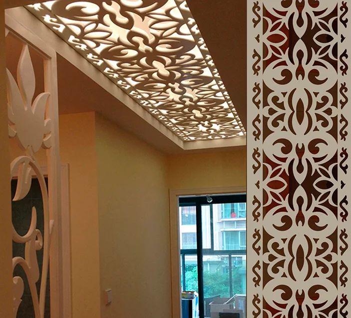 Laser Cut Home Interior Jali Design Pattern SVG File