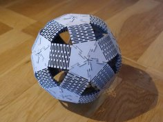 Plywood Dodeca Ball DXF File