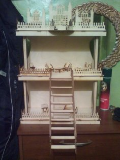 Laser Cut Dollhouse DXF File