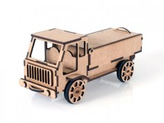 Laser Cut Lorry Truck 4.1mm MDF PDF File