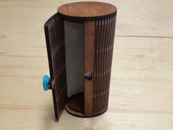 Laser Cut Sunglass Case Free Vector