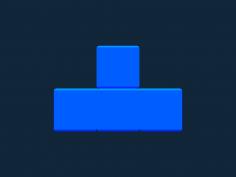 Tetris block T stl file