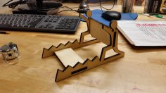 Laser Cut iPad Stand Free Vector