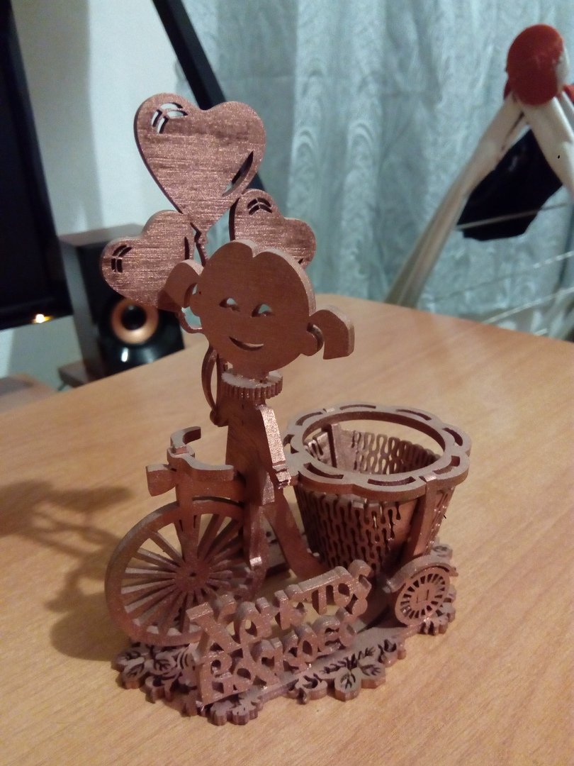 Laser Cut Easter Egg Stand 4mm Free Vector