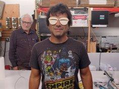 Laser Cut Eskimo Sunglasses 3mm Free Vector