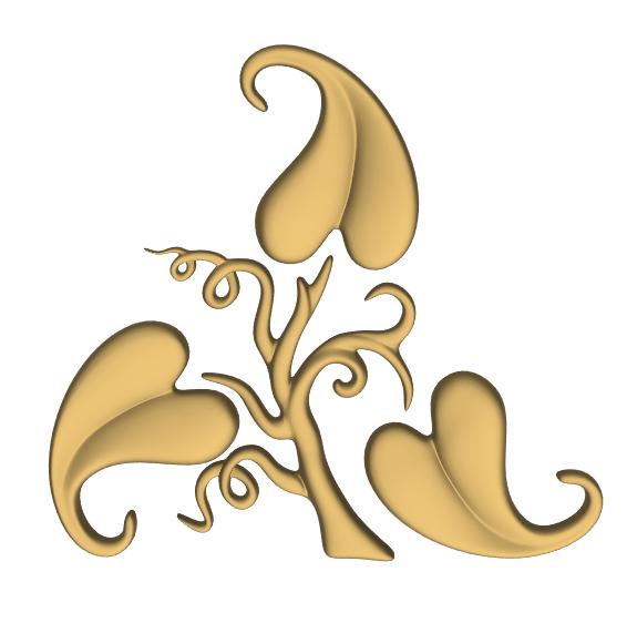 CNC 3D Relief Design stl File