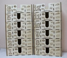 Laser Cut Napkin Holder With Spice Rack 4mm Free Vector