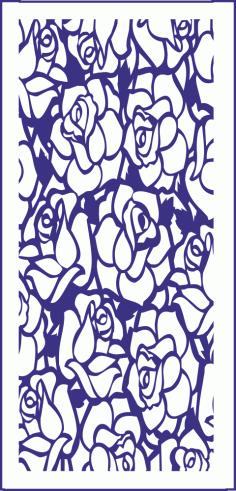 Flowers Pattern Vector Free Vector