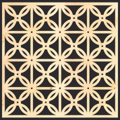 Decorative Wood Grilles Panels Pattern Free Vector