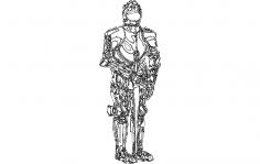Armorsuit dxf File