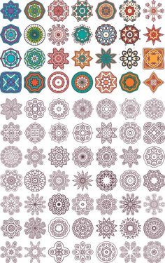 Ornament beautiful card with mandala Free Vector