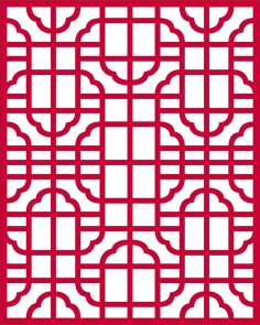 Traditional classic lace pattern dxf File