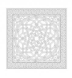 Mozaik Design DWG File