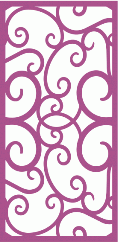 Laser Cut Vector Panel Seamless 222 Free Vector