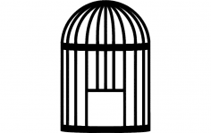 Bird cage dxf File