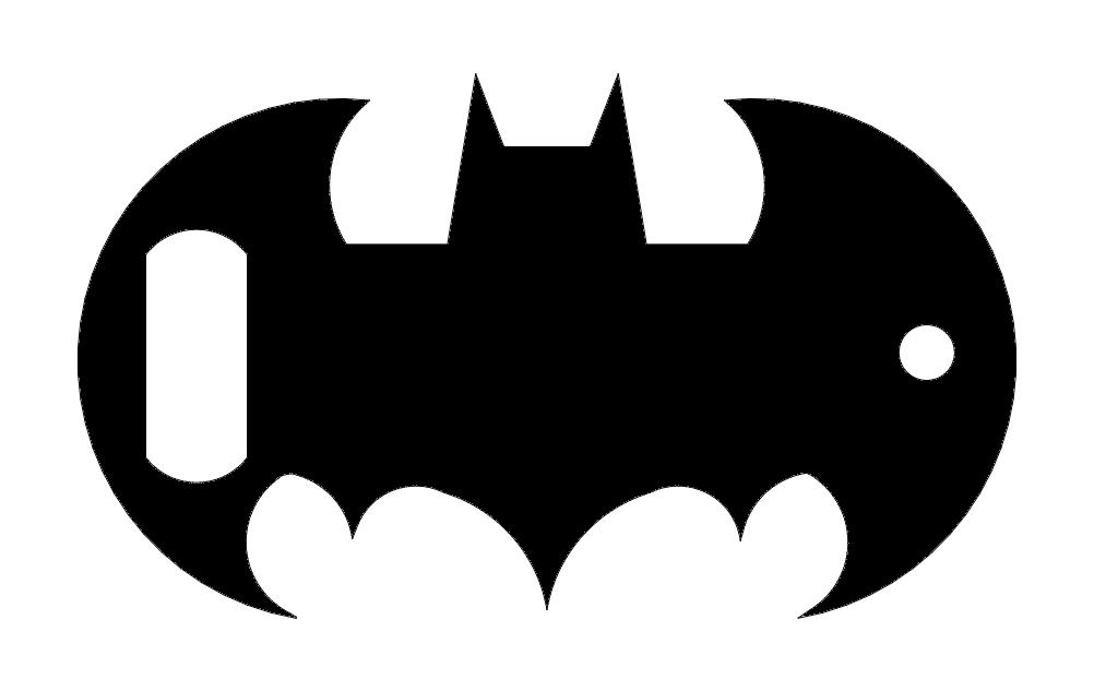 Batman opener dxf File