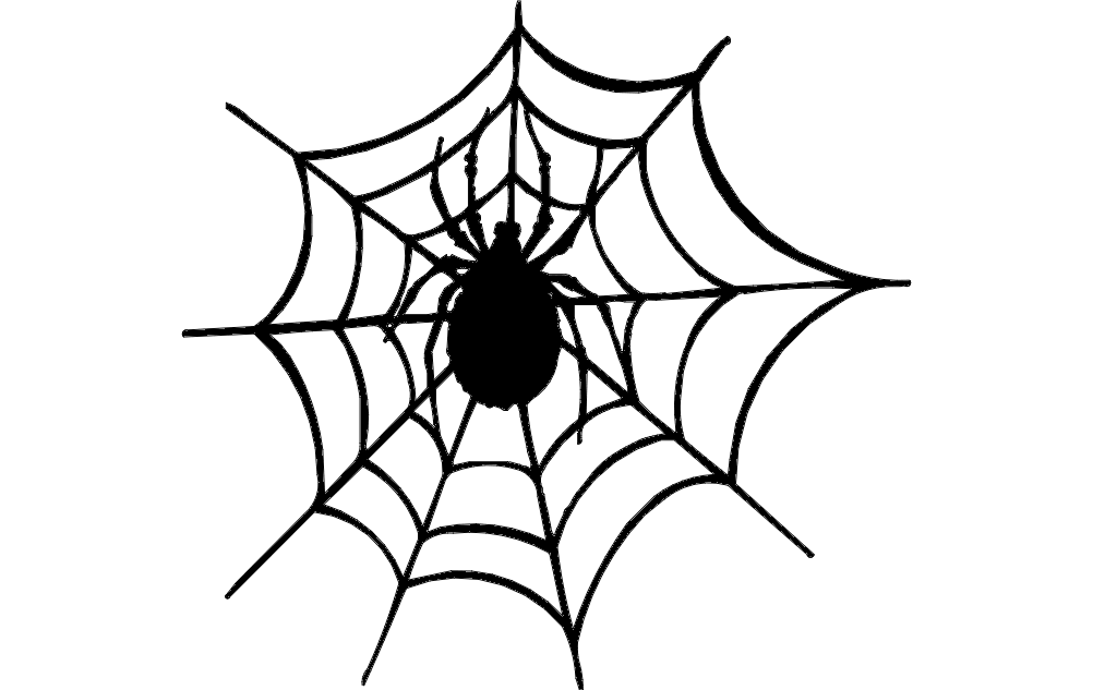 Spider And The Web dxf File
